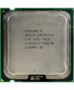 Процессор CPU Intel Core 2 Duo E6700 3.2 GHz/2core/2Mb/65W/1066MHz LGA775