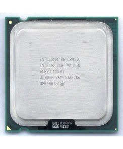Процессор CPU Intel Core 2 Duo E8400 (3,0MHz, LGA775, L2 6144Kb, 1333MHz)