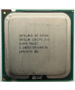 Процессор CPU Intel Core 2 Duo E4500 2.2 GHz/2core/2Mb/65W/800MHz LGA775