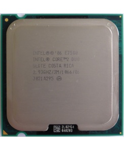 Процессор CPU Intel Core 2 Duo E7500 2.93 ГГц/ 3Мб/ 1066МГц LGA775